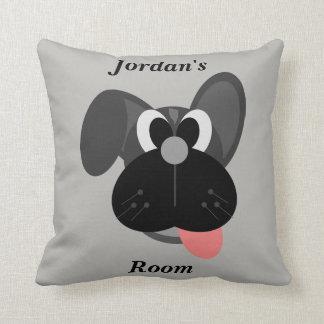 Almofada Cão bonito do travesseiro das crianças