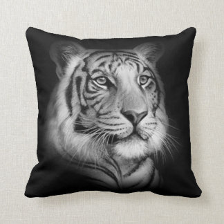 Almofada Cara branca do tigre