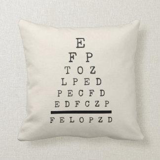 Almofada Carta de olho decorativa do travesseiro decorativo