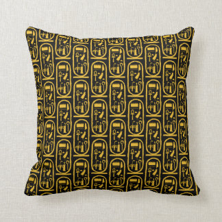Almofada Cartouche do ouro de Tutankhamun