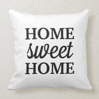 Almofada Casa doce Home do travesseiro |