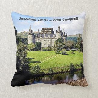 Almofada Castelo de Inveraray - clã Campbell