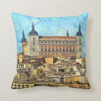 Almofada Castelo do Alcazar em Toledo.