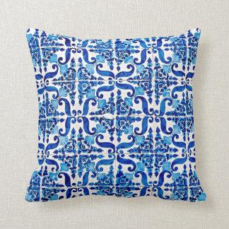 Almofada Categoria do azulejo do português do vintage um