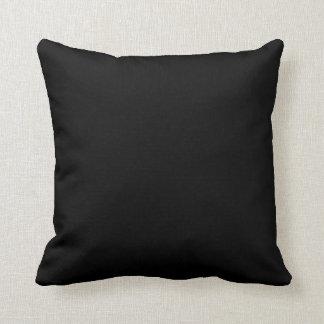 Almofada Categoria preta um travesseiro decorativo 20x20 do