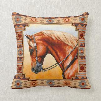Almofada Cavalo do quarto do design do sudoeste