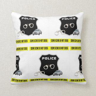 Almofada Cena do crime da polícia