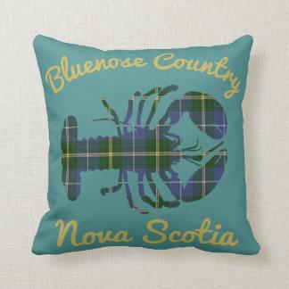 Almofada Cerceta da lagosta do Tartan de Nova Escócia do