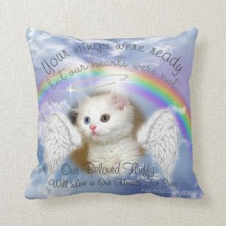 Almofada Céu celestial com o memorial do animal de