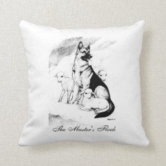 Almofada Céu do cão, o rebanho do mestre