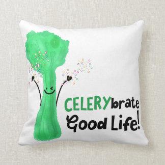 Almofada Chalaça positiva do aipo - boa vida de Celerybrate