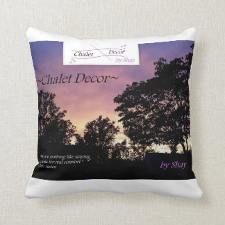 Almofada ~Chalet Decor~ por Shay - travesseiro