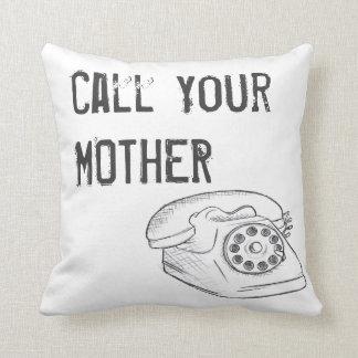 Almofada Chame seu travesseiro da mãe