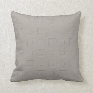 Almofada Checkered alaranjado morno