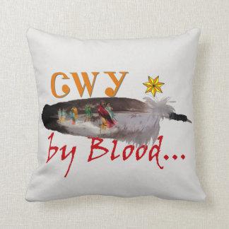 Almofada Cherokee pelo sangue