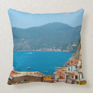 Almofada Cinque Terre no Riviera italiano