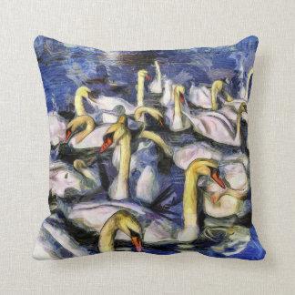 Almofada Cisnes Vincent van Gogh