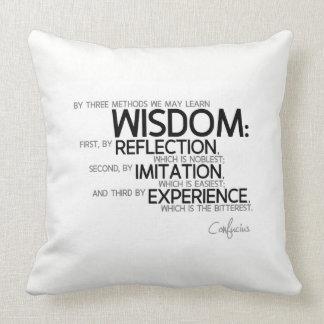 Almofada CITAÇÕES: Confucius: Aprenda a sabedoria