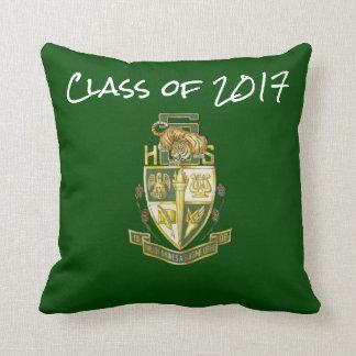 Almofada Classe do travesseiro 2017 alto da graduação do