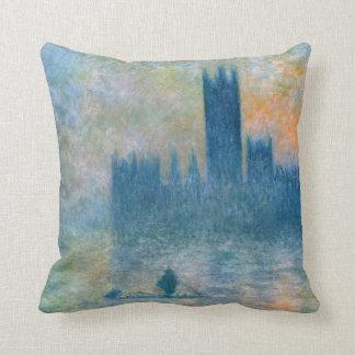 Almofada Claude Monet as casas do parlamento