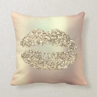 Almofada Cobre Glam da composição dos lábios mais foxier do