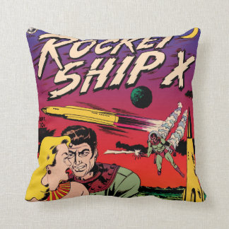 Almofada Cobrir de banda desenhada de Sci Fi do vintage do