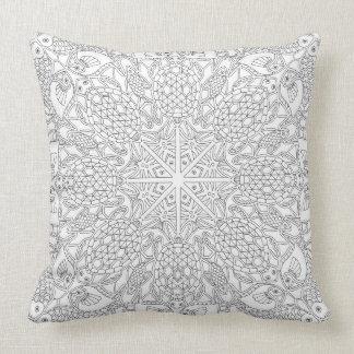 Almofada Cobrir do travesseiro que caracteriza o a lápis