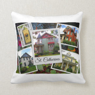 Almofada Colagem da foto do St. Catharines