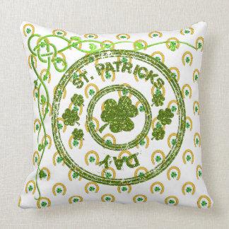 Almofada Coleção 53086 do travesseiro do dia do St Patrick