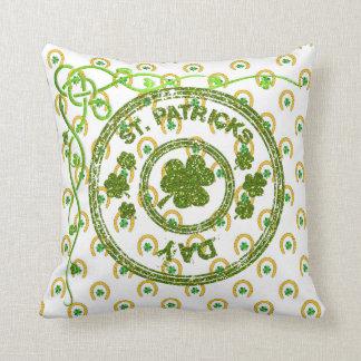 Almofada Coleção 53086A do travesseiro do dia do St Patrick