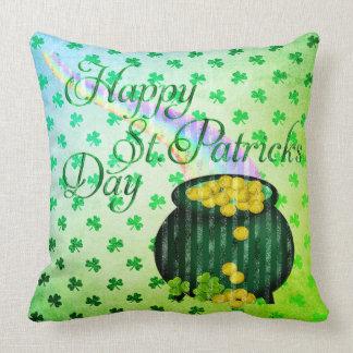 Almofada Coleção 53086B do travesseiro do dia do St Patrick