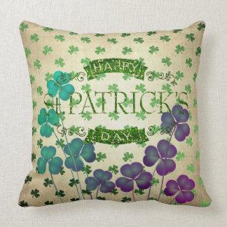 Almofada Coleção 53086C do travesseiro do dia do St Patrick