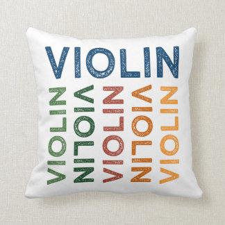 Almofada Colorido bonito do violino