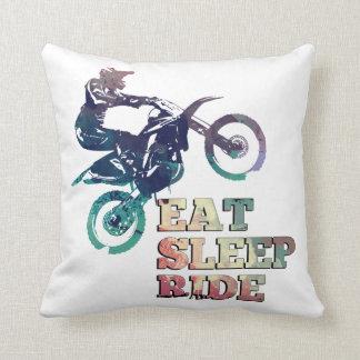 Almofada Coma a bicicleta da sujeira do passeio do sono