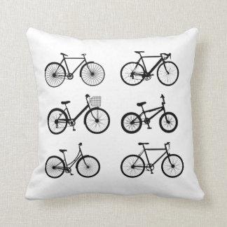Almofada Como a montada de uma bicicleta