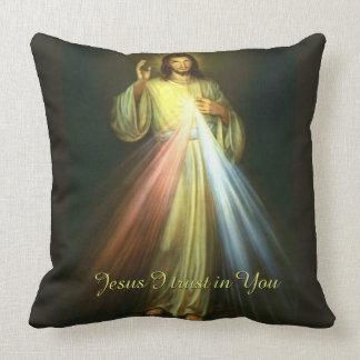Almofada Compaixão divino Jesus que eu confio em você