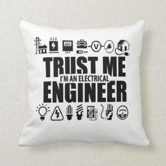 Almofada Confie-me, mim são um engenheiro electrotécnico