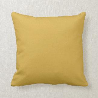 Almofada Cor amarela da mostarda