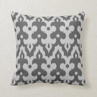 Almofada Cor damasco marroquina do azulejo, máscaras das