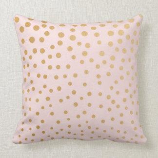 Almofada Cora o travesseiro decorativo cor-de-rosa do ponto