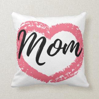 Almofada Coração do pastel da mamã