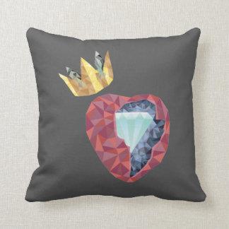 Almofada Coração geométrico