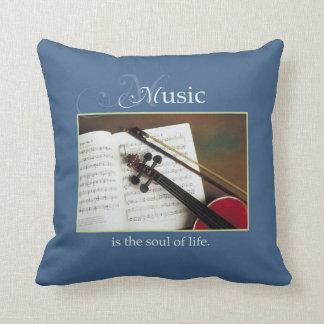 Almofada Cordas musicais, a alma da vida, tradicional