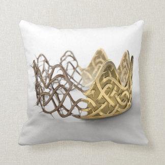 Almofada Coroa do conceito dos espinhos