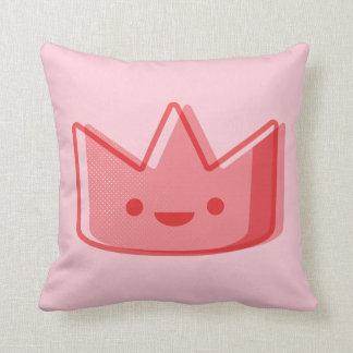 Almofada Coroa do rosa de bebê