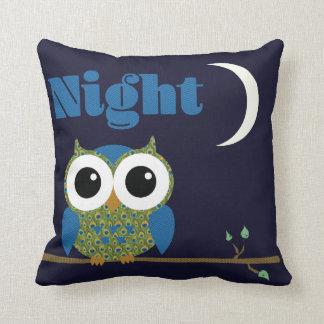 Almofada Coruja de noite