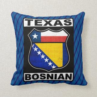 Almofada Coxim americano bosniano do sinal de Texas