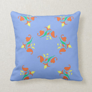 Almofada Coxim colorido floral do travesseiro decorativo do