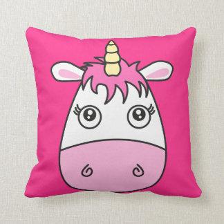 Almofada Coxim cor-de-rosa bonito do travesseiro do