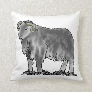Almofada Coxim da arte dos carneiros de Herdwick da ram do